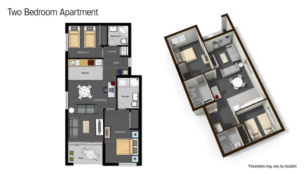 Delightful 2 Bedroom Apartment