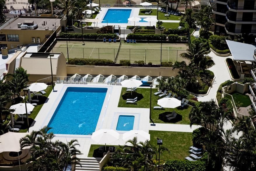 Paradise Centre Apartments Surfers Paradise Mantrahotels Com