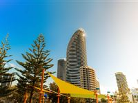 Exterior from the beach - Peppers Broadbeach
