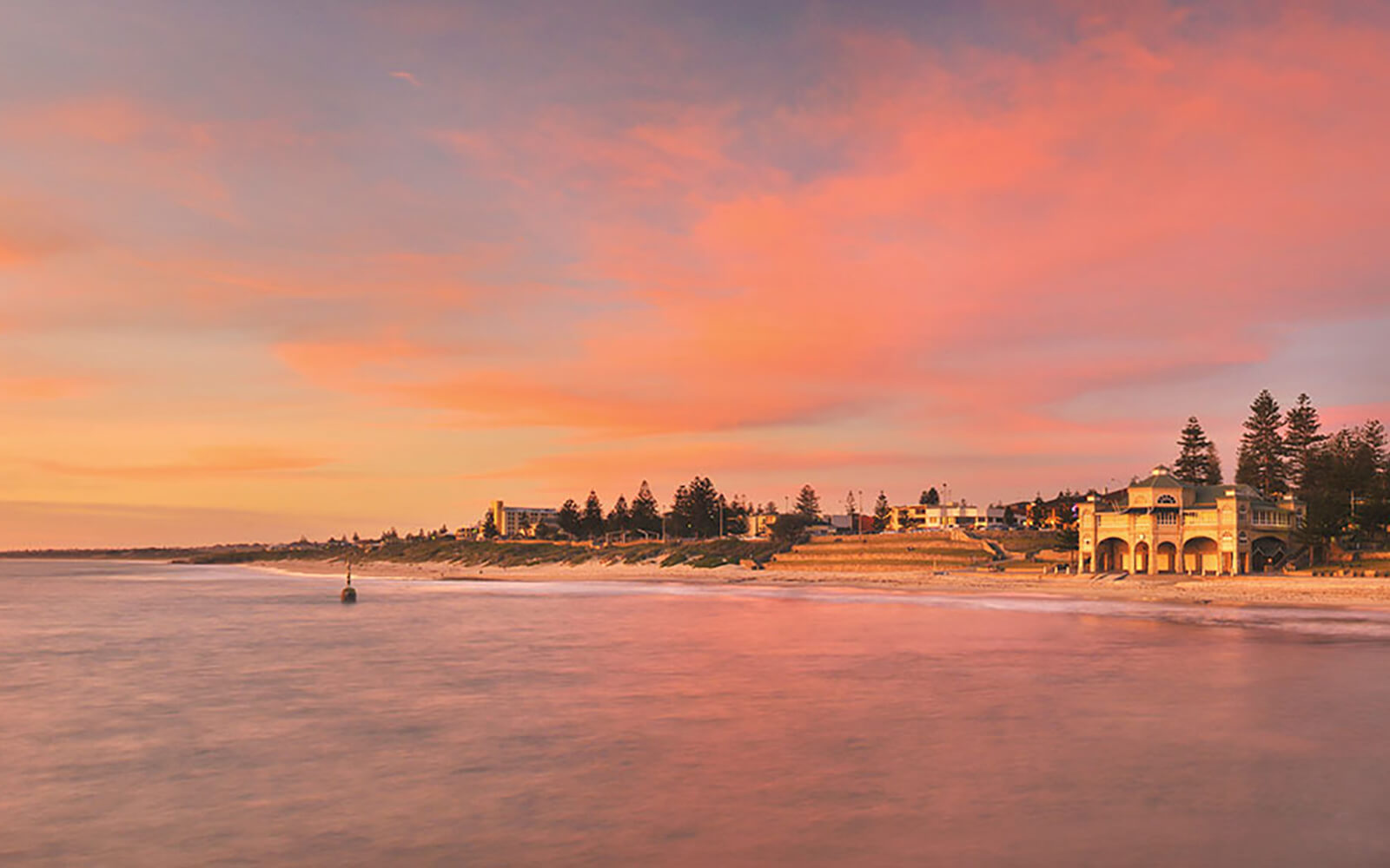 Sunset over  Cottesloe Beach, Perth