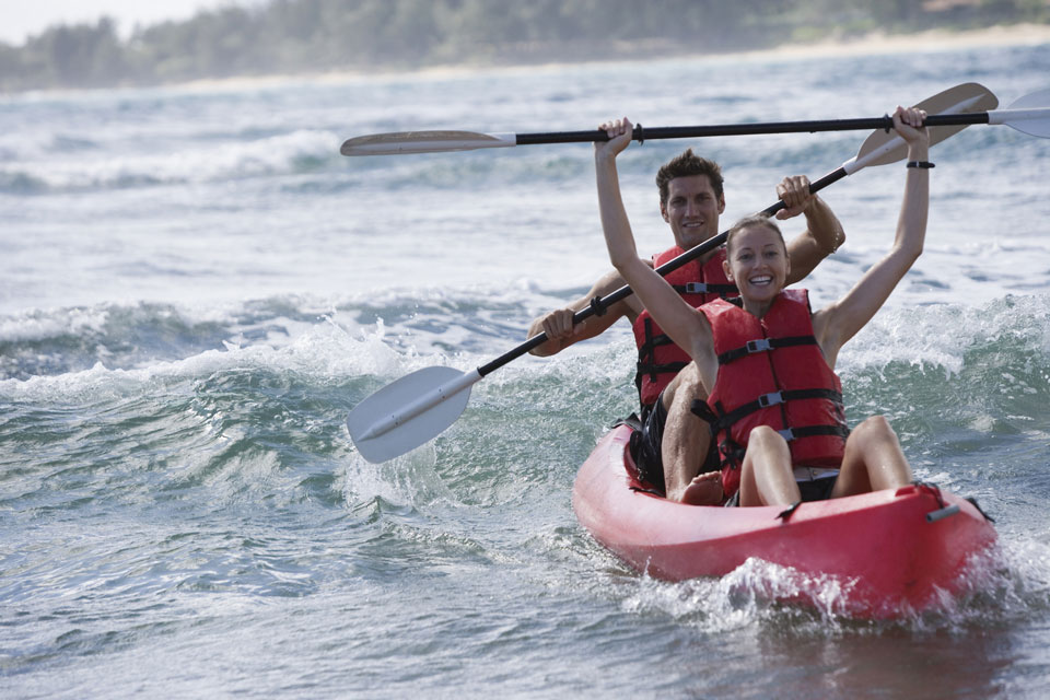 Water sport hire equipment and tours for kayaking and surf boards