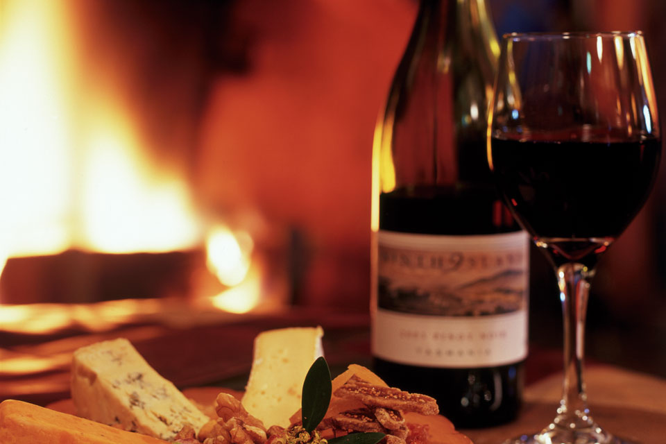 Wine and Cheese tasting with Peppers Cradle Mountain