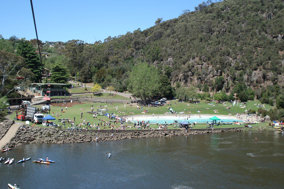 Picnic lunch areas in Launceston