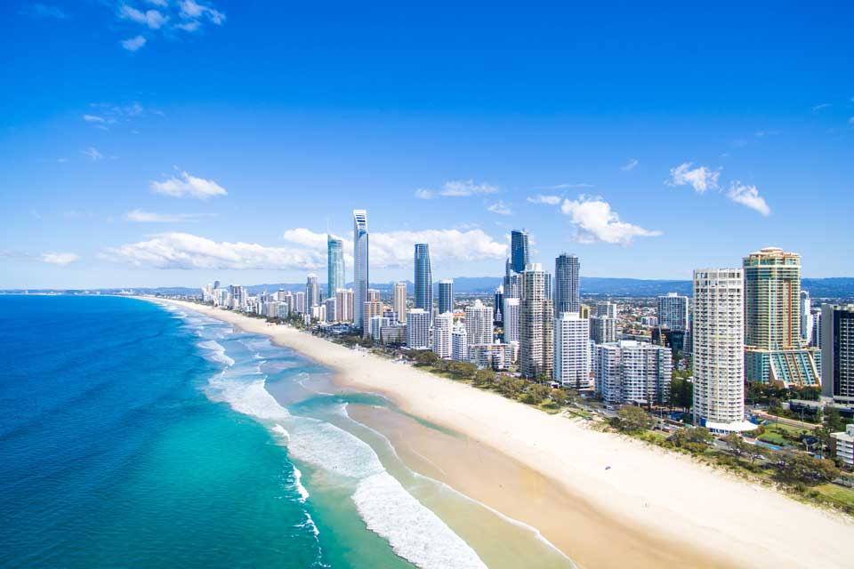 Book a helicopter ride in Surfers Paradise
